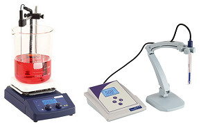 Phoenix magnetic stirrer RSM-14HP and pH meter EC-30-pH