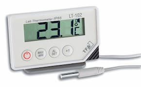 Alarm thermometers and digital timers, CE