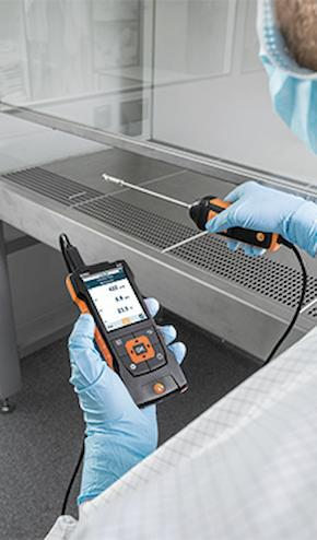 testo climate measuring instrument Testo 440 dP
