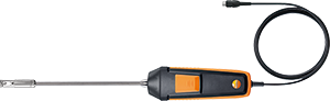 Highly accurate fume cupboard probe (digital) for testo 440
